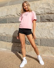 Ava And Ever Girls' Kenny Bike Shorts Black