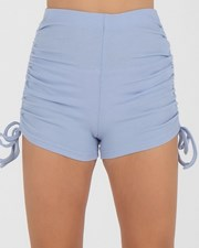 Ava And Ever Girls' Kenny Bike Shorts Light Blue