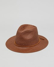 Brixton Wesley Straw Hat Brown