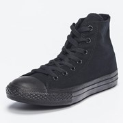 Converse Girls Chuck Taylor Hi-top Shoes Black Monochrome