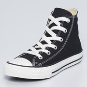 Converse Girls Chuck Taylor Hi-top Shoes Black