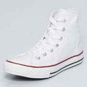 Converse Girls Chuck Taylor Hi-top Shoes White/White
