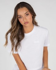 Fila Elena Toweling T-Shirt White