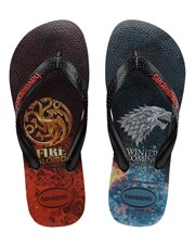 Havaianas Game Of Thrones Thongs Black