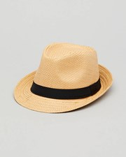 Lucid PEDRO STRAW FEDORA Natural