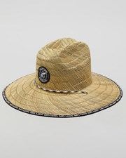 Salty Life Depth Straw Hat Natural