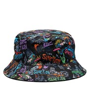 Sanction Toddlers' Throttle Reversible Bucket Hat Multi/black