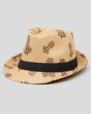 Skylark Native Straw Fedora Hat Natural