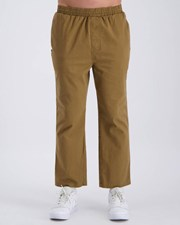 Stussy Peaches Twill Beach Pants Mushroom