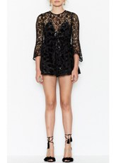 Alice Mccall Aurora Playsuit - Black
