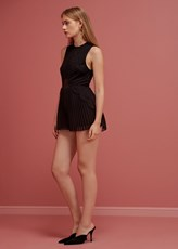 Keepsake BE THE ONE PLAYSUIT - BLACK
