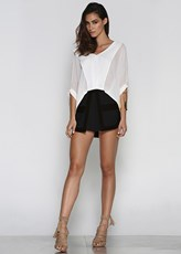 Runaway The Label First Date Shorts - Black