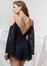 Finders Keepers TOLD YOU PLAYSUIT navy