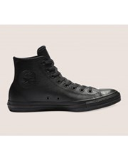 Converse Unisex Converse Chuck Taylor All Star Leather High Top Black Mono