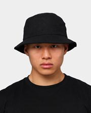 EN ES Corduroy Bucket Hat Black
