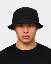 EN ES Towel Bucket Hat Black