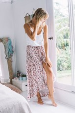 Indian Summer Co Jade Skirt Samode Petal