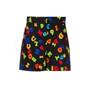 Moschino Fridge Magnet Print Shorts BLACK 689175