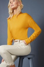 Emerge Merino Mock Neck Sweater 257774