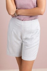 Grace Hill Linen Blend Shorts 235875
