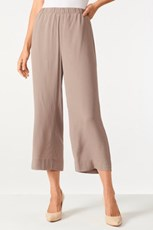 Grace Hill Straight Cropped Pants 203961