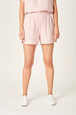 French Connection (Fcuk) COTTON CRINKLE SHORT SOFT PINK