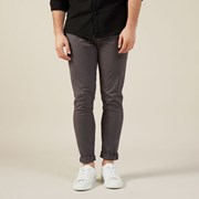 French Connection (Fcuk) SLIM FIT CHINO PANT CHARCOAL