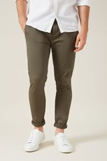 French Connection (Fcuk) SLIM FIT CHINO PANT MILITARY GREEN