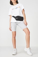Factorie Basic Bike Short GREY MARLE