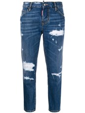 Dsquared2 Beach Cool Girl cropped jeans - 14720679