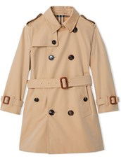 Burberry Cotton Gabardine Trench Coat - 13470278