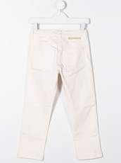Stella Mccartney Horses and Fringes mom-fit jeans - 15564169