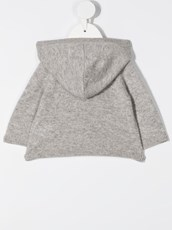 Bonpoint cashmere knit hoodie - 15633945