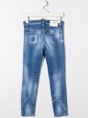Dsquared2 contrast stitch skinny jeans - 15838303