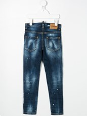 Dsquared2 distressed skinny jeans - 15148771
