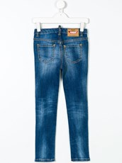 Dsquared2 faded skinny jeans - 13040367