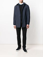 Herno hooded overcoat - 14772105
