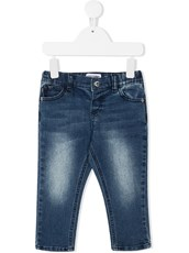 Moschino Kids light-wash skinny jeans - 15610280