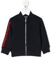 Dsquared2 logo-print zip-through jacket - 15020906