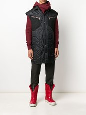 Rick Owens quilted design gilet - 14964675
