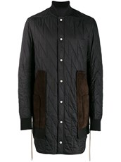 Rick Owens quilted duffle coat - 14279629