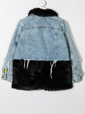 Duoltd two-tone denim jacket - 16033068