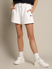 Champion Reverse Weave Shorts in White
