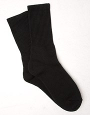 Kit Sport Crew Socks Black