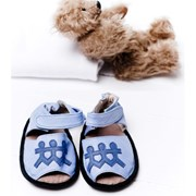Cheeky Little Soles Boys club baby sandals