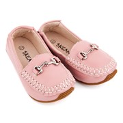 Kidshop Australia Classic leather loafers in pink