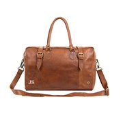 Mahi Leather Eckhart Doctor Holdall Bag in Vintage Brown Leather