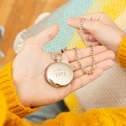 Ellie Ellie Est year personalised pocket watch