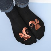 Solesmith Nuts about you squirrel socks