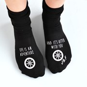 Solesmith Personalised Adventures Are Better With You Socks